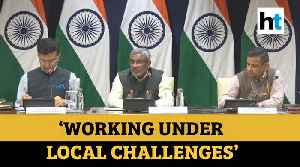 Covid-19 | 'Functioning under local challenges': India on Iran situation [Video]