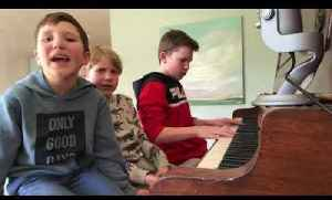 Kids Sing Original Song About Social Distancing and Hygiene to Stop Spread of Coronavirus [Video]