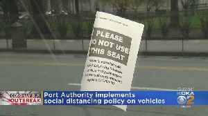 Port Authority Implements Social Distancing Policy On Vehicles [Video]