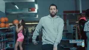 Eminem Reveals Winner of #GodzillaChallenge   Billboard News [Video]
