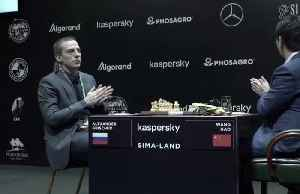 With sanitizing gel at hand, major chess tournament continues [Video]