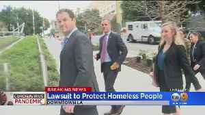 Lawsuit Alleges LA Officials Not Doing Enough To Protect Homeless From Coronavirus [Video]