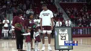 Carter's Bulldog Career Ends On Senior Night [Video]