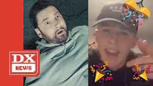 Eminem Announces #GodzillaChallenge Grand Prize Winner [Video]