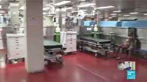 Coronavirus pandemic: US Navy deploys two hospital ships as COVID-19 spreads [Video]