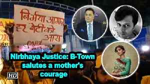 News video: Nirbhaya Justice: B-Town salutes a mother's courage