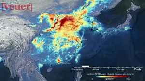 Satellite Images Show Stark Dropoff in Pollution Over China During Coronavirus Lockdown [Video]