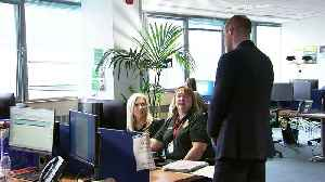 Duke and Duchess of Cambridge visit NHS 111 call centre [Video]