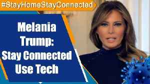 """First Lady of USA Melania Trump said """"This Is Not How We'll Live Forever"""" [Video]"""