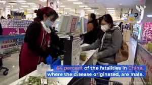 Coronavirus Has Killed More Males Than Females Worldwide [Video]
