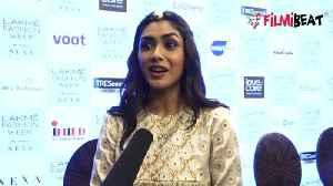 Mrunal Thakur follows Priyanka Chopra &amp [Video]