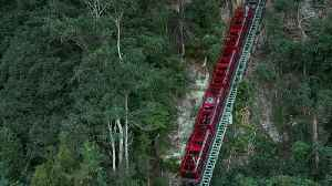 This Near-Vertical Train Ride Can Be Found In Australia [Video]