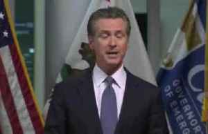 'Bend the curve,' says California governor Newsom [Video]