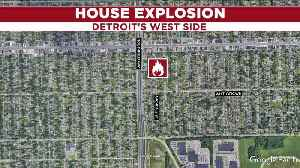 Crews on scene of home explosion in Detroit [Video]