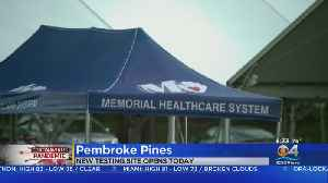 National Guard To Open Coronavirus Testing Site In Pembroke Pines [Video]