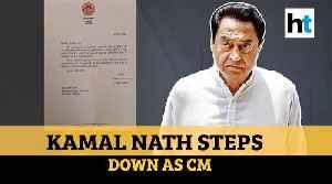 Watch: Kamal Nath resigns as MP Chief Minister, slams BJP & rebel MLAs [Video]