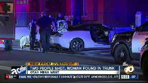 2 people shot, woman found in trunk of car in Otay Mesa [Video]