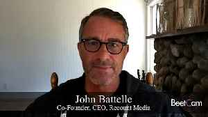 Batelle's Recount Grows Distribution At Apex Of Politics & Virus [Video]