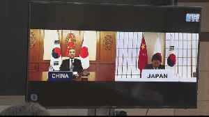 Coronavirus: South Korea, Japan and China hold video conference [Video]