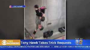 Tony Hawk Performs Tricks On Request Online [Video]