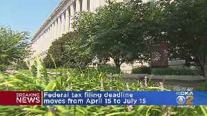 News video: Income Tax Filing Deadline Moved Due To Coronavirus Outbreak