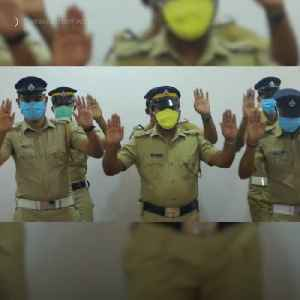 Police officers create dance to promote good hand-washing hygiene [Video]