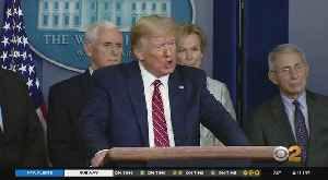 Pres. Trump Invokes Defense Production Act In Coronavirus Outbreak [Video]