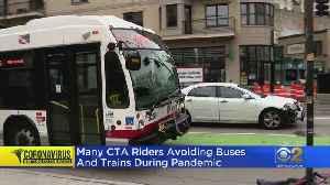 COVID-19 Concerns Cut Down On CTA Ridership [Video]