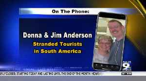 Eugene couple stranded on a cruise ship in South America [Video]