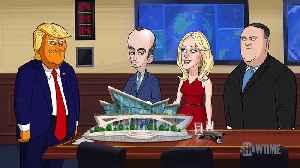 Our Cartoon President Season 3 Clip - Cartoon Trump Infiltrates Silicon Valley [Video]
