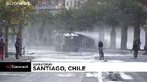In Chile, protesters keep marching despite coronavirus [Video]