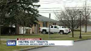 Landlord provides rent relief to struggling tenants [Video]