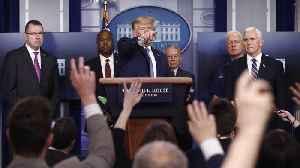 President Trump Says Coronavirus Stimulus Bill Is 'Getting Very Close' [Video]