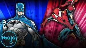 The Ultimate Superhero Bracket: Batman vs Spider-Man | Part 3 [Video]