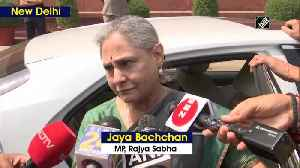 Has he changed Jaya Bachchan on juvenile released in Nirbhaya case in 2015 [Video]