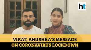 Coronavirus | 'Stay home, stay healthy': Virat Kohli, Anushka Sharma share video message [Video]