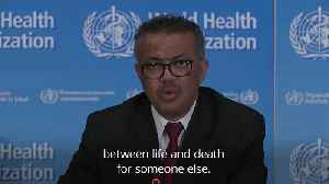 WHO: Young people 'not invincible' against coronavirus [Video]