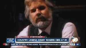 Singer, actor, 'The Gambler': Kenny Rogers dies at 81 [Video]