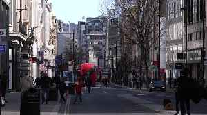Covid-19 pandemic: Shopping streets fall quiet as bars and restaurants close [Video]
