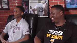Carter Father-Son Duo Bond Through Love of Basketball [Video]