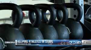 Alternative ways to keep athletes in shape [Video]
