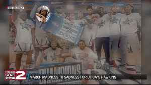 From March Madness to sadness, Utica's Hawkins experiences emotional roller-coaster with RMU [Video]