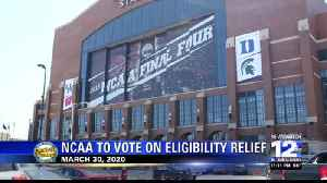 NCAA to vote on eligibility relief on March 30-2 [Video]