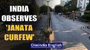 News video: India observes 'Janata Curfew' to fight against community spread of Coronavirus | Oneindia News