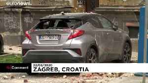 Earthquake of 5.3 degrees in Zagreb causes serious damage