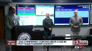 2nd confirmed coronavirus case in Pottawattamie County [Video]