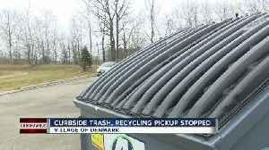 Village of Denmark stopping curbside trash pickup [Video]