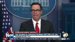 Top leaders in congress working on stimulus deal [Video]