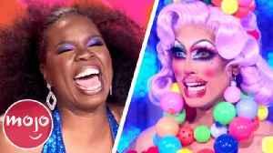 Drag Race Recap: Leslie Jones Judges The Ball Ball | MsMojo's Drag Race RuCap [Video]