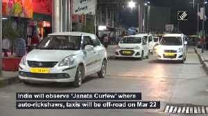 News video: Auto, taxi drivers laud 'Janata Curfew' of PM Modi in Delhi